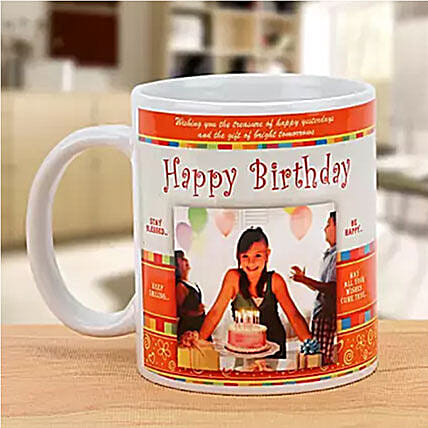 Personalized Happy Birthday Mug: Send Personalised Gifts to Australia