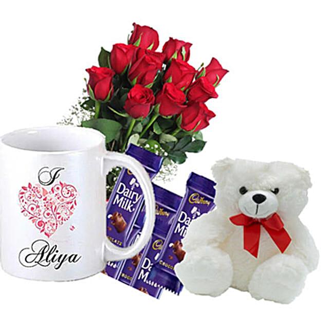 Personalised Romantic Greetings: Personalised Gifts Canada