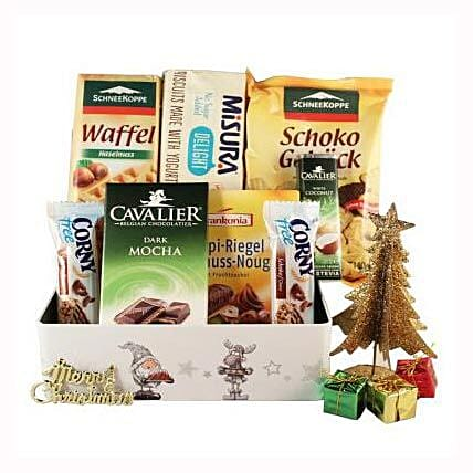 Sweet Moments Diabetic Gift Basket: Gifts to Denmark