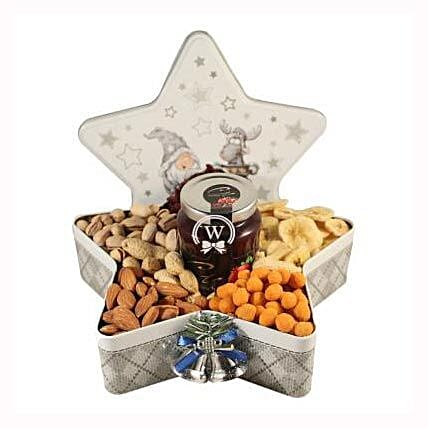 Christmas Star with Nuts: Business Gifts to Finland