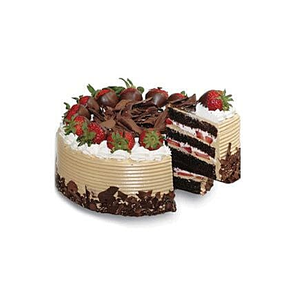 Choco n Strawberry Gateaux: Cake Delivery in Indonesia