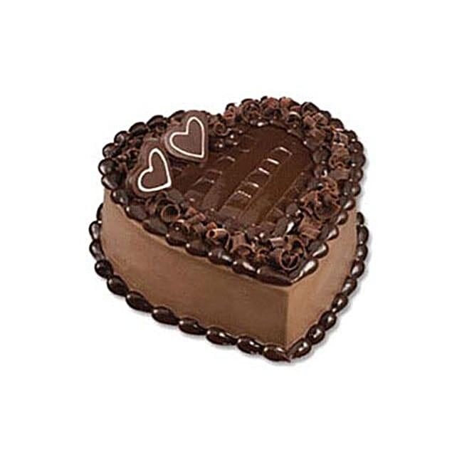 Chocolate Heart Cake: Send Cakes to Indonesia