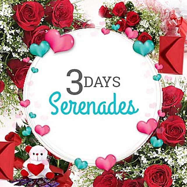 3 Days Valentine Love Everyday: Serenades