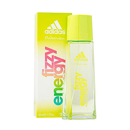 Adidas Fizzy Energy Spray for Women: Perfumes for Birthday Gifts