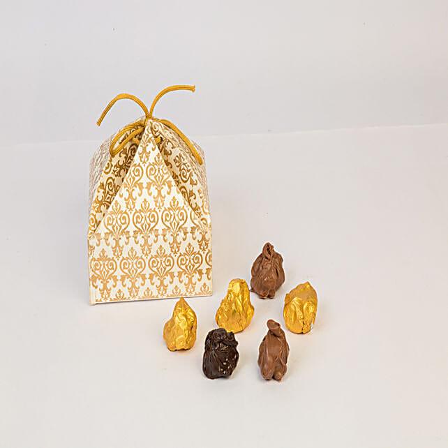 Almond Rocks In Beautiful Box: Dry Fruits