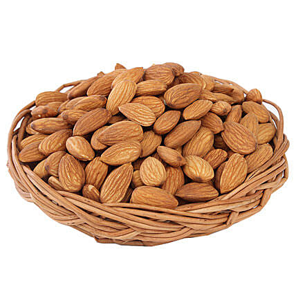 Almonds Basket: Send Gift Baskets