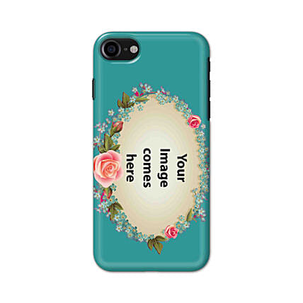 Apple iPhone 8 Customised Floral Mobile Case: