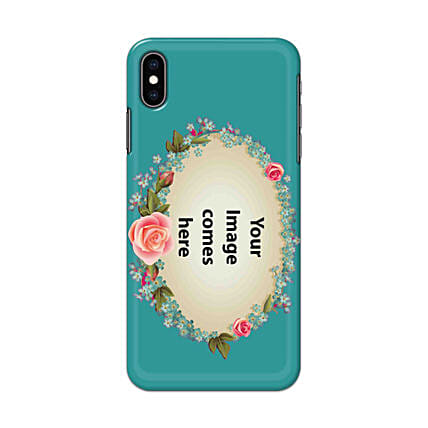 Apple iPhone XS Customised Floral Mobile Case: