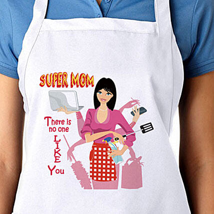 Apron For Super Mom: Apparel Gifts