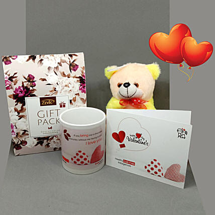 Assorted Stevia Chocolates Valentine Hamper: