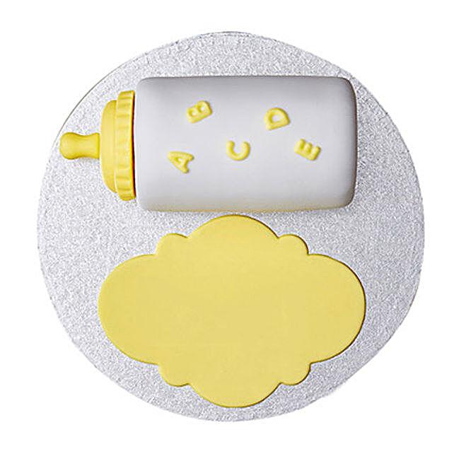 Baby Bottle Fondant Cake: Designer Cakes