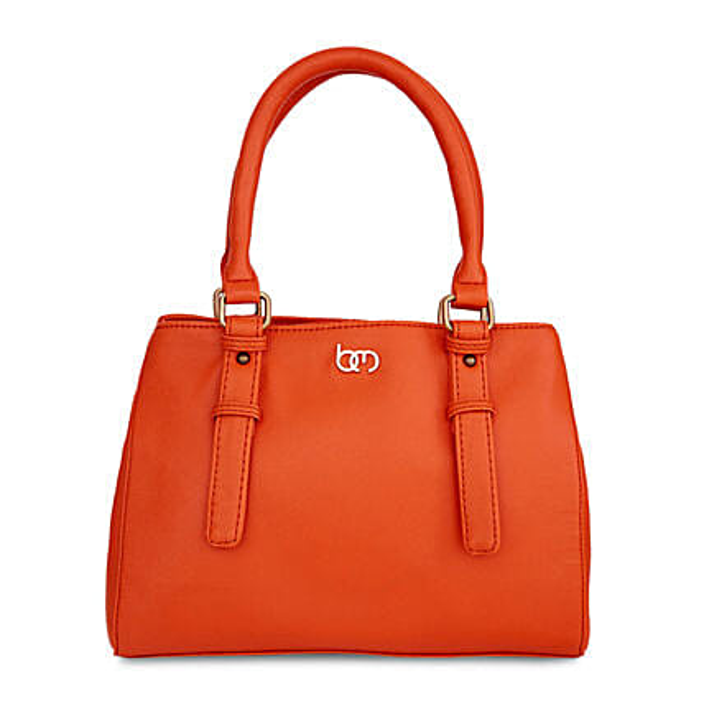 Bagsy Malone Alizarin Orange Handbag: Handbags and Wallets Gifts