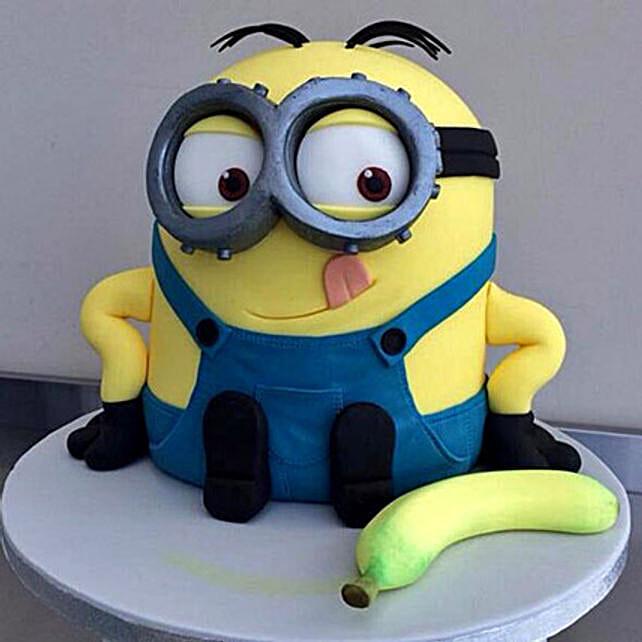 Banana N Bob Minion Cake: