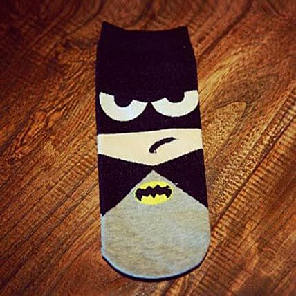 Batman Ankle Length Socks: Gifts to India