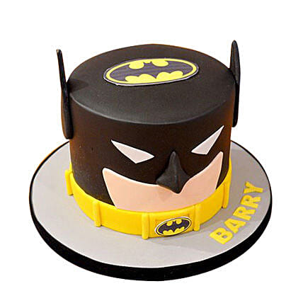 Batman Mask Cake: Cartoon Cakes
