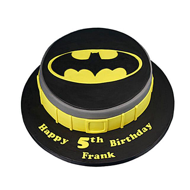 Batman Symbol Cake: Batman Theme Cakes