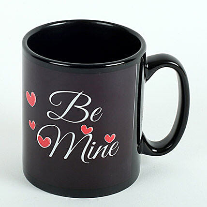 Be Mine Printed Ceramic Mug: Buy Coffee Mugs