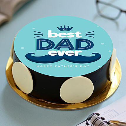 Best Dad Ever Photo Cake Fathers Day Cakes
