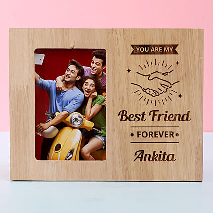 Best Friend Forever Photo Frame: Personalised Photo Frames for Friendship Day