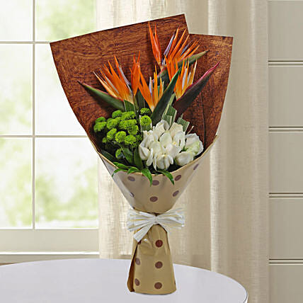 Bird Of Paradise Special Bunch: