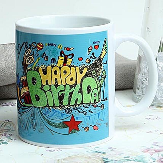 Birthday Mug: Coffee Mugs