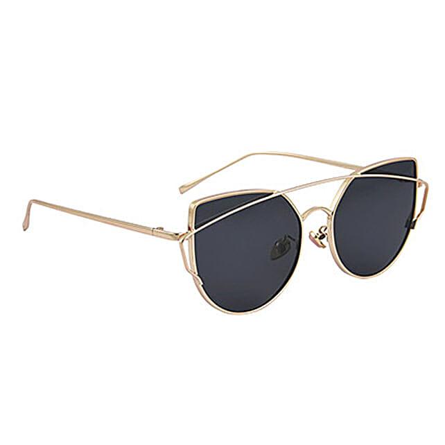 Black Round Unisex Sunglasses: Sunglasses Gifts