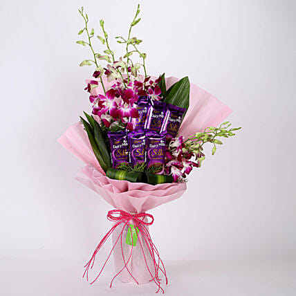 Bunch Of Orchids & Chocolates: Cadbury Chocolates