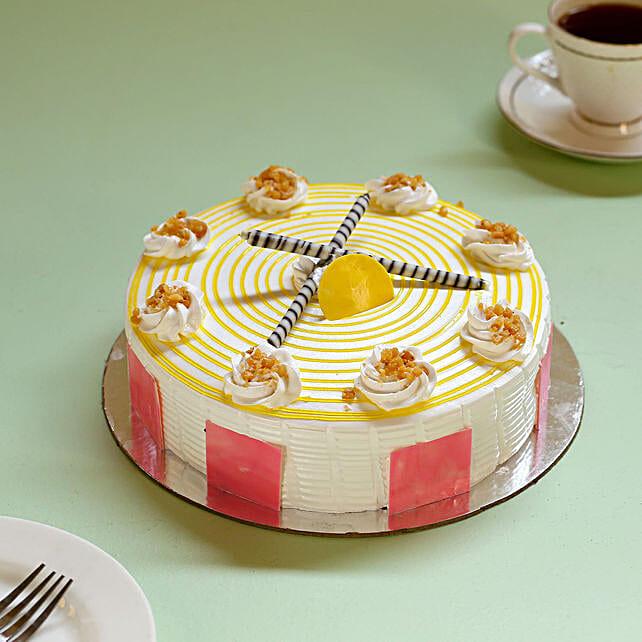 Butterscotch Swirl Cake: Buy Eggless Cakes