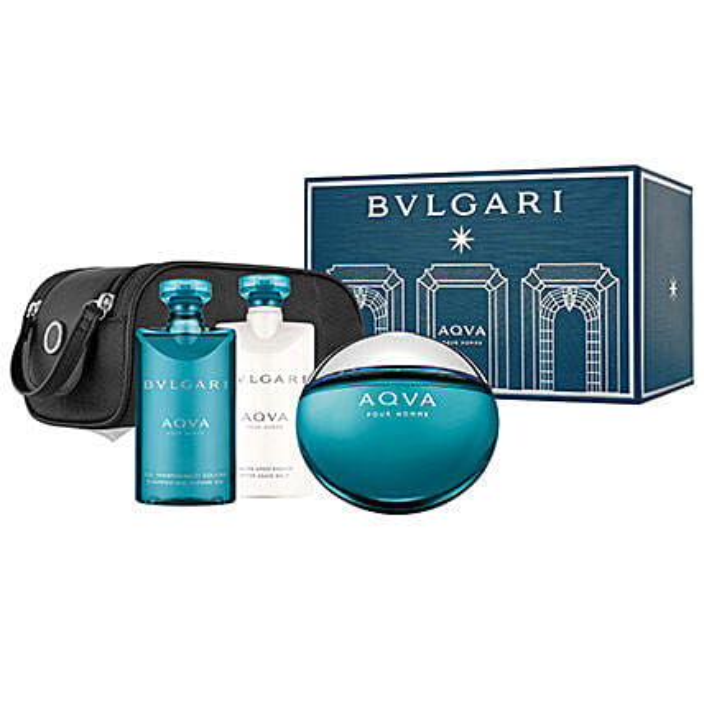 BVLGARI Aqua Gift Set For Men: New Year Gift Hampers
