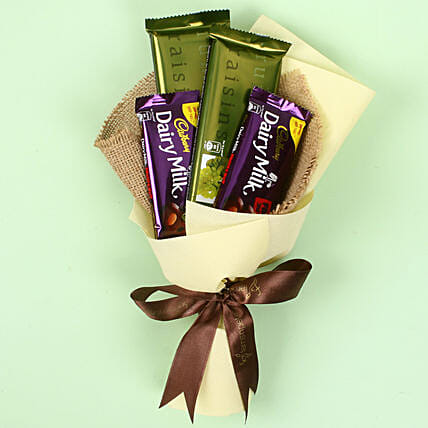 Cadbry Chocolate Bouquet: Chocolate Day Gifts
