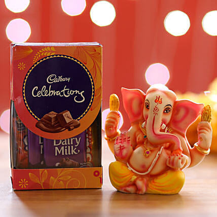 Cadbury Celebrations Pack & Ganesha Idol: