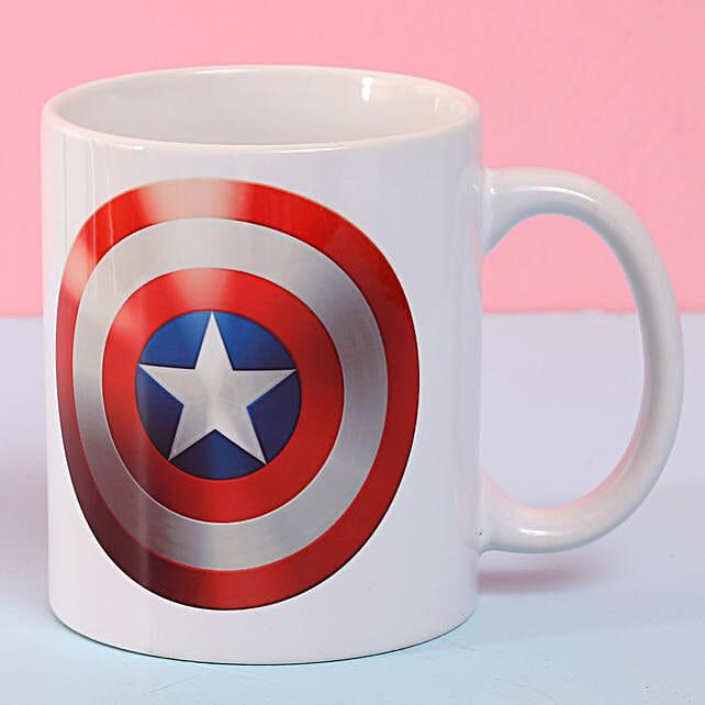 Captain America Ceramic Mug: Coffee Mugs
