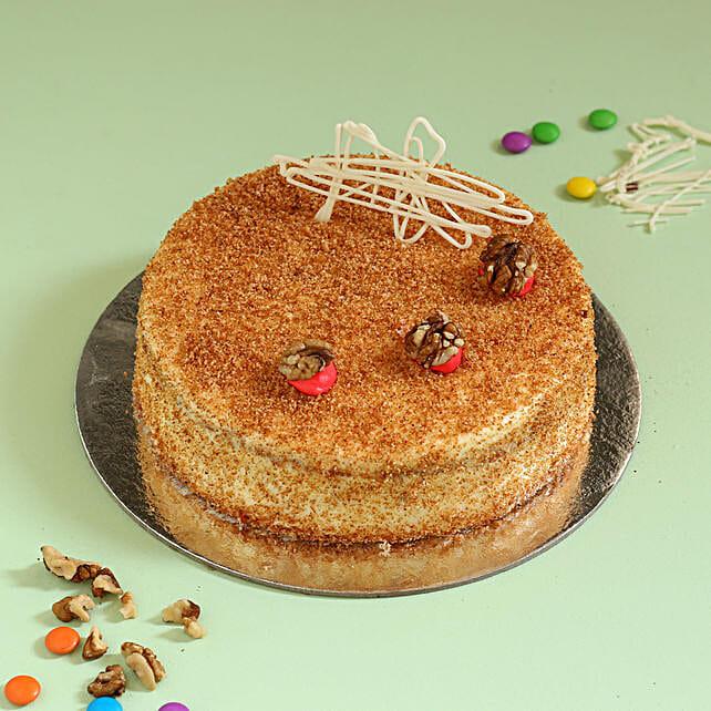 Carrot Walnut Cake: Cakes