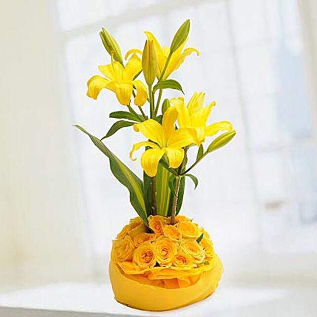 Celebrate Love: Flower Basket