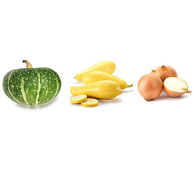 Chappan Kaddu Summer Squash & Onion Seeds Combo:
