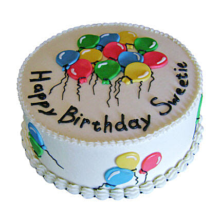 Charm Of Balloons Cake Birthday Cakes For Girls Boys