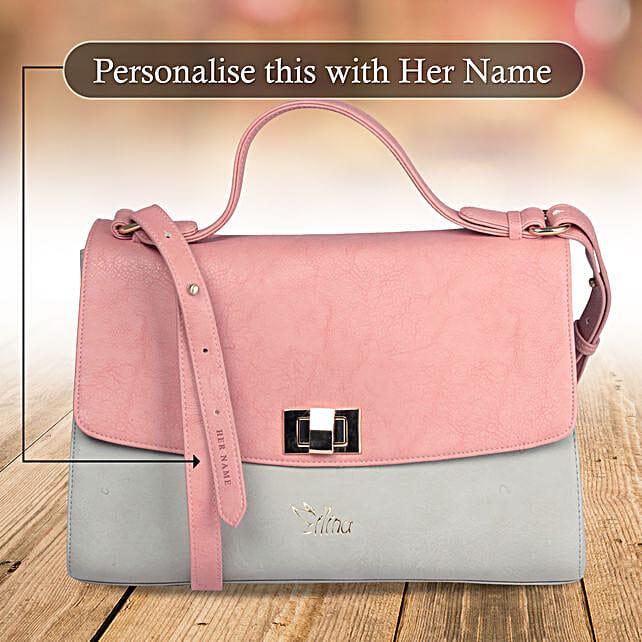 Chic Pink Sling Bag: