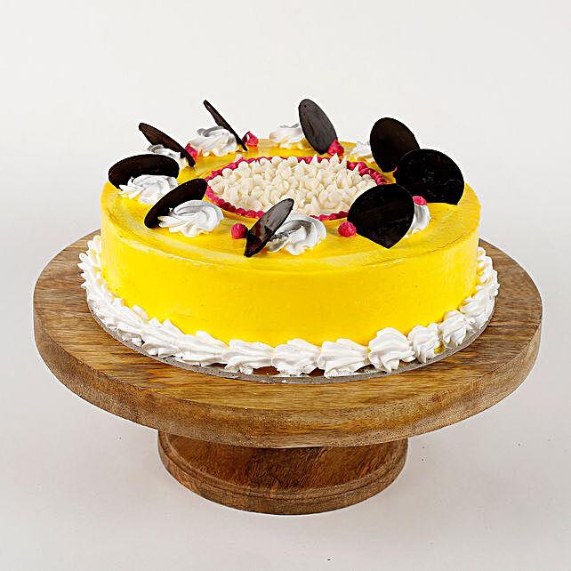Choco Coin Cream Cake: Vanilla Cakes