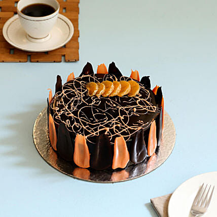 Choco Orange Cake: Chocolate Cake