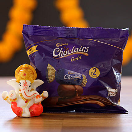 Chocolairs Gold & Ganesha Idol: