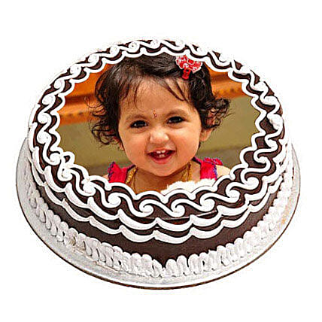 Chocolate Photo Cake Cakes For Birthday