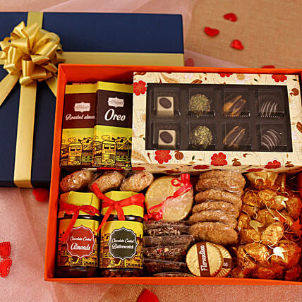 Chocolates Delightful Hamper Box: Gift Hampers