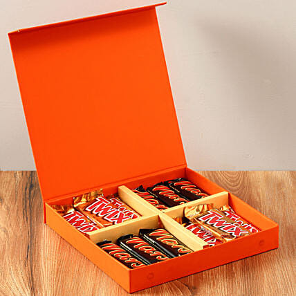 Chocolaty Orange Gift Box: Hug Day Gifts