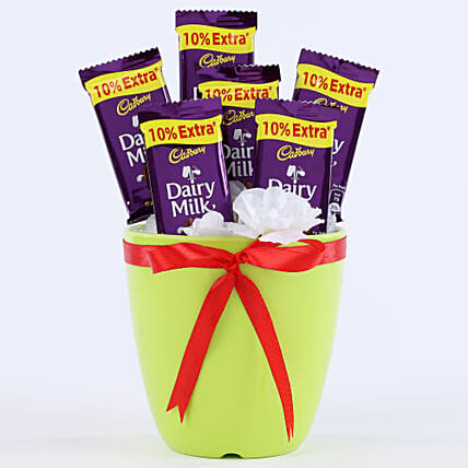 Chocolaty Vase: Return Gifts