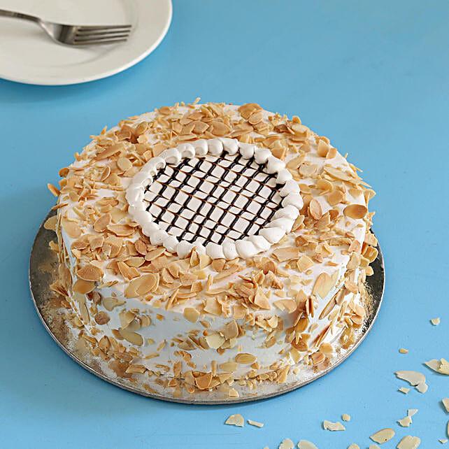 Classic Almond Cake: Buy Eggless Cakes