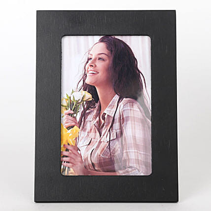 Classy Black Photo Frame: Personalised Photo Frames Gifts