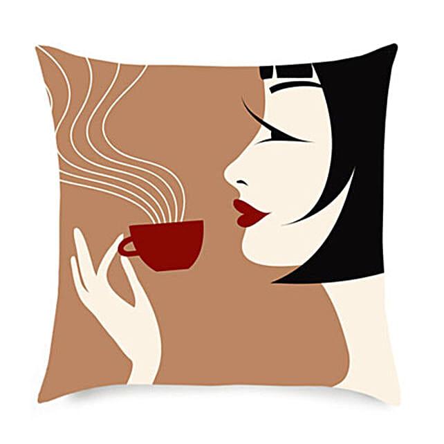 Coffee With Comfort Cushion: Buy Cushions