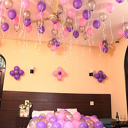 Colorful Balloons Decor: Balloon Decorations