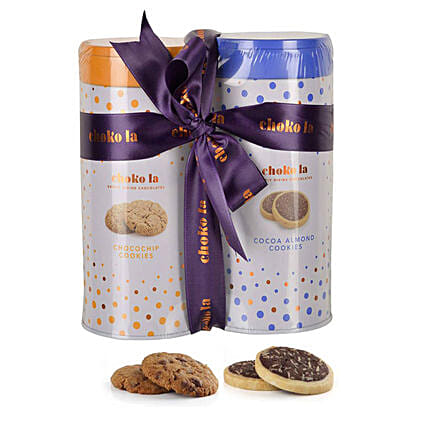 Cookie Combo- Almond & Chocochip: Send Gourmet Gifts