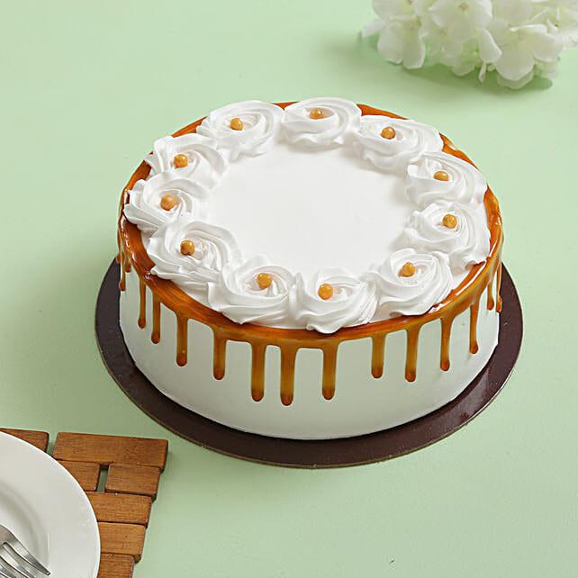 Crunchy Butterscotch Cream Cake: Send Butterscotch Cakes
